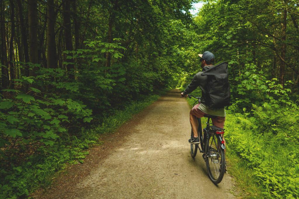 Ostseebad Kühlungsborn Stadtwald Fahrradtour