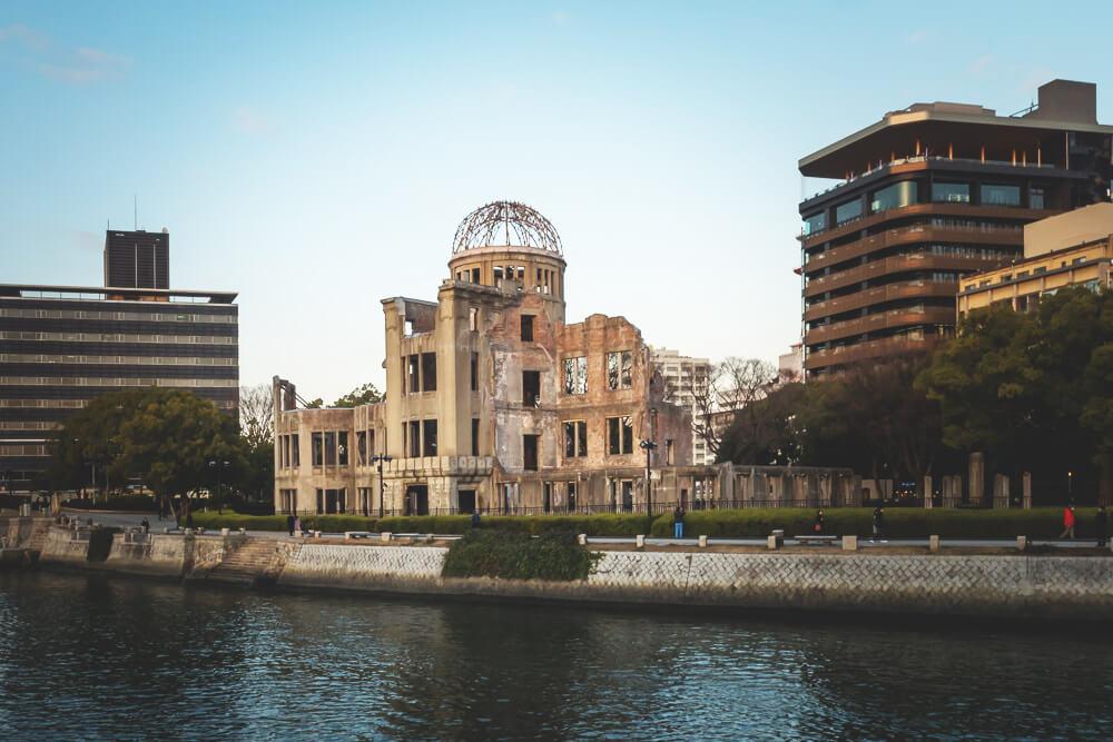 Reise-Japan-Hiroshima-Atombombenkuppel