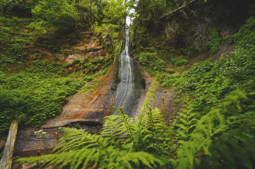 Sankenbachwasserfall-Sankenbachsee-Baiersbronn-Schwarzwald
