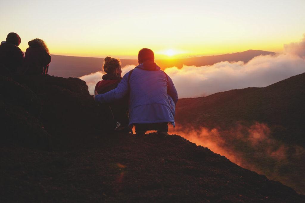 Hawaii-Highlights-Bid-Island-Sunset-Mauna-Kea