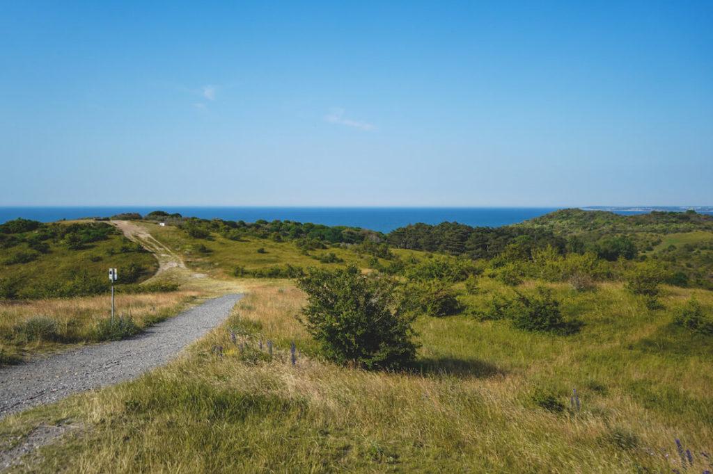 Insel-Hiddensee-Fahrradfahren-Wege-Aussicht