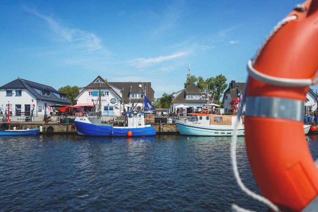 Insel-Hiddensee-Hafen-Vitte