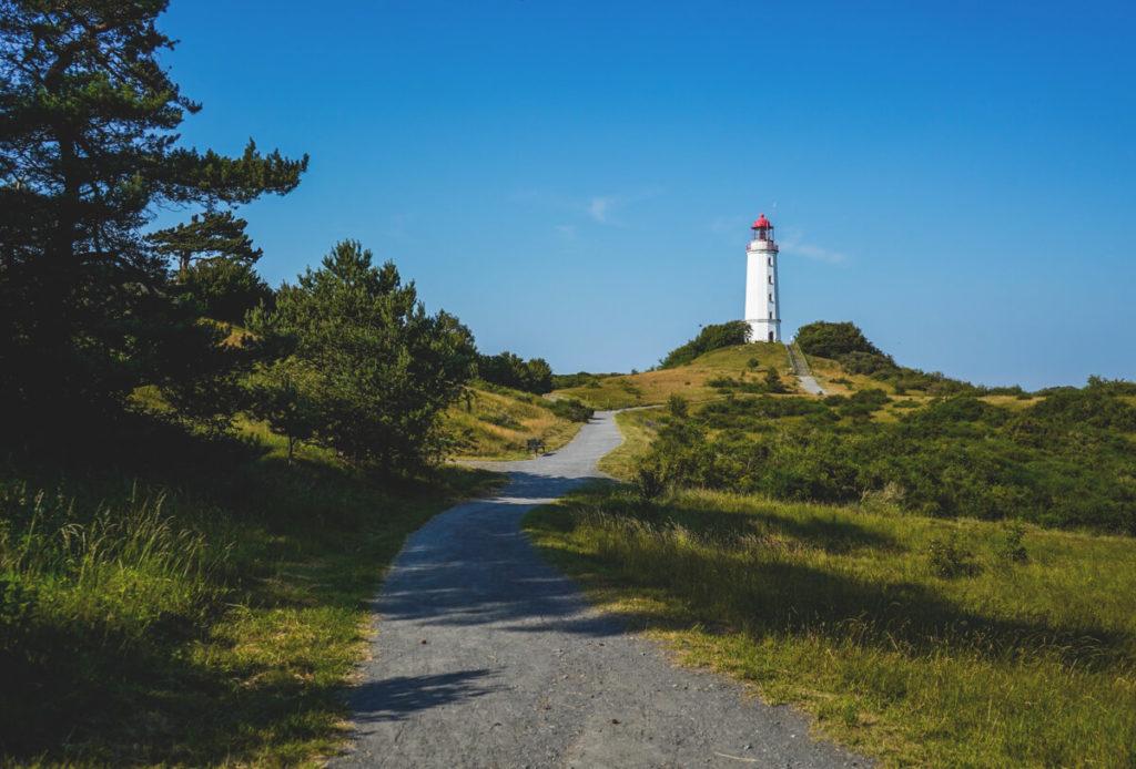Leuchtturm-Dornbusch-Insel-Hiddensee-Ostsee