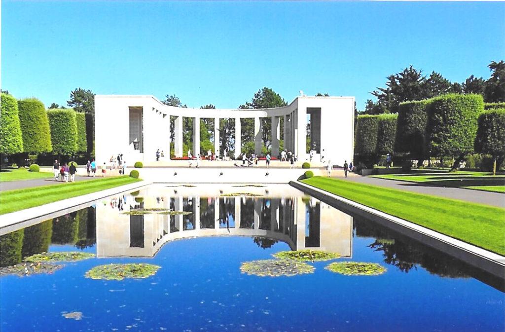Nordfrankreich-Normandie-Soldatenfriedhof