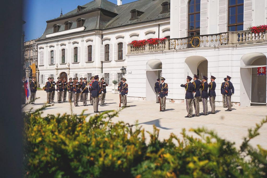 Bratislava-Sehenswuerdigkeiten-Palais-Grassalkovich