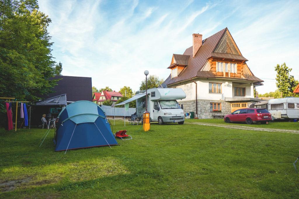 Campingplatz-Ustup-Zakopane-Hohe-Tatra-Polen