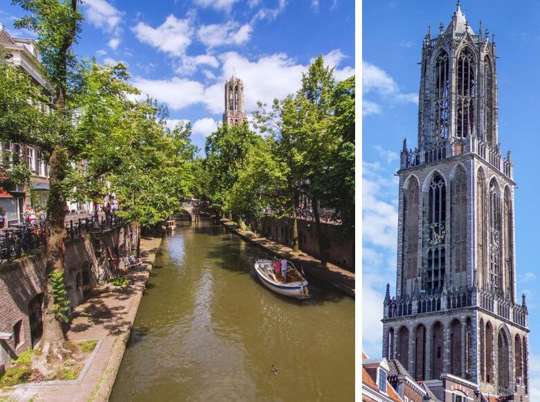 Utrecht Highlights Domkerk Domturm