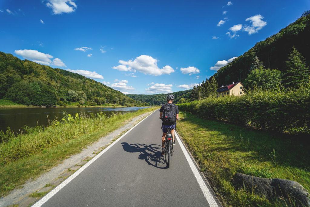 Sehenswürdigkeiten in der Sächsischen Schweiz Elberadweg