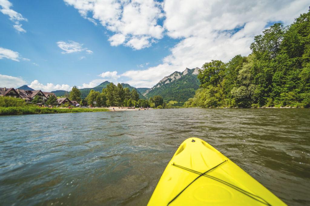 Kajaktour-Polen-Dunajec-Pieniny-Gebirge-2