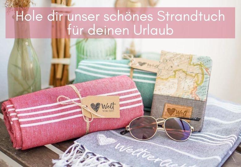 Strandtuch-Sommer-Weltverliebt-Decke