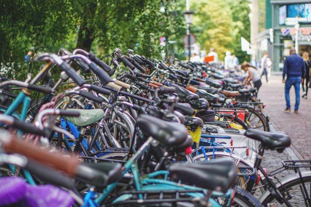 Utrecht Highlights Transport Fahrrad