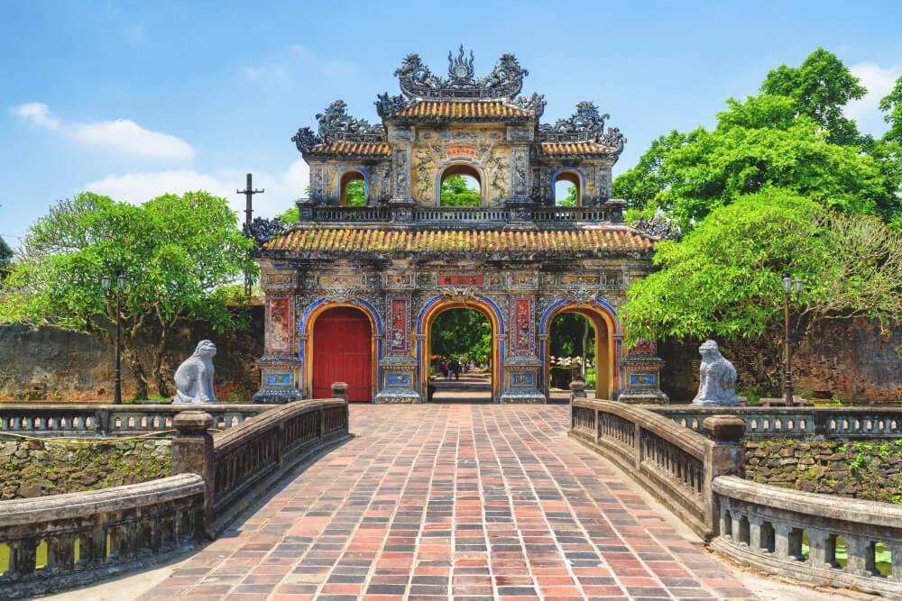 Vietnam-Highlights-Hue-Palast