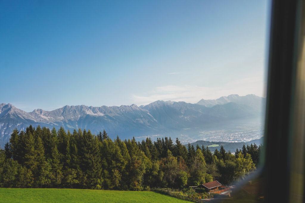 Innsbruck-Highlights-Muttereralm-Muttereralmbahn-Aussicht