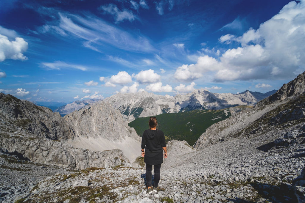 Innsbruck-Nordkette-Karwendelblick-Aussicht