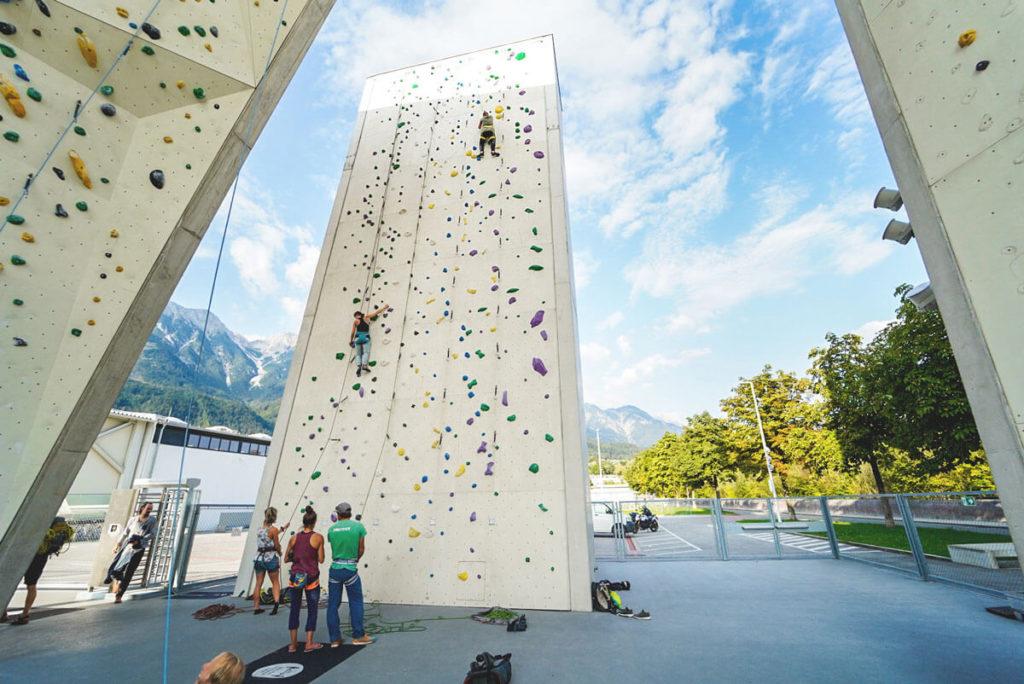 Innsbruck-Outdoor-Aktivitaeten-Klettern