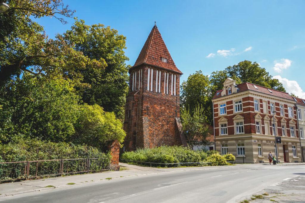 Wismar Sehenswürdigkeiten Wasserturm Lindengarten
