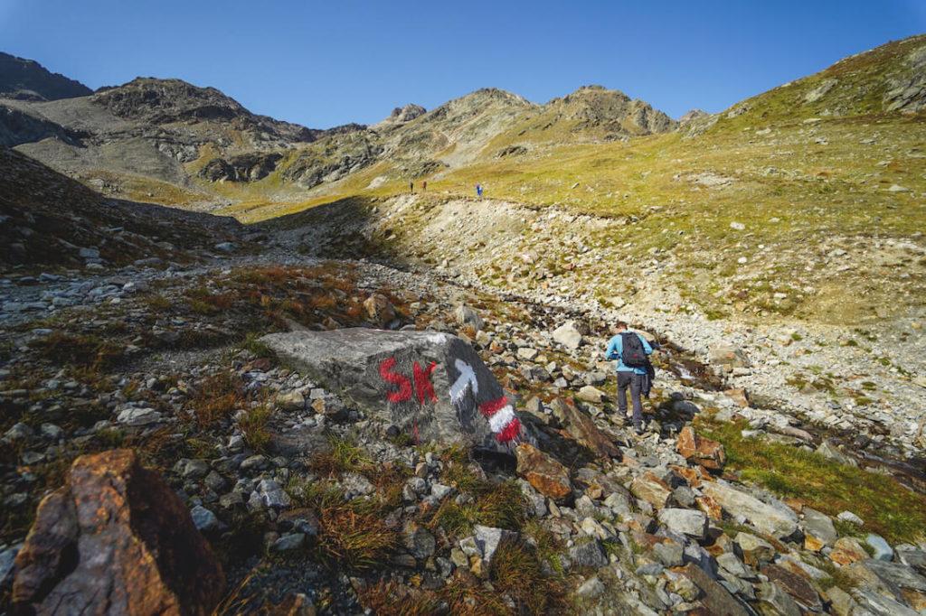 Sulzkogel-Wanderung-Wanderweg-Geroell-Gestein