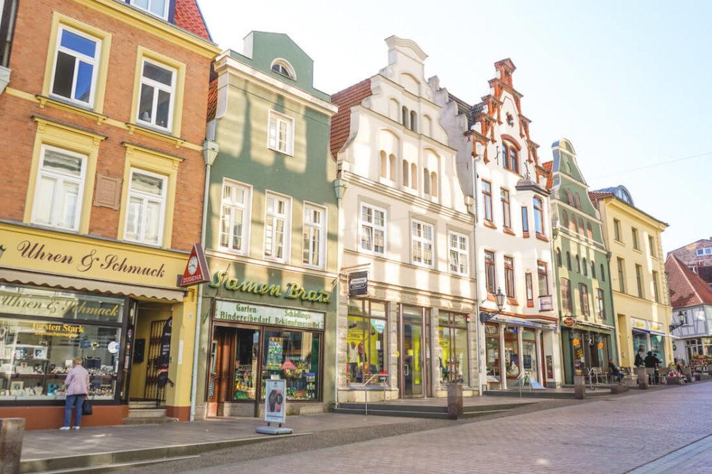 Wismar-Highlights-Altstadt-Kraemerstrasse