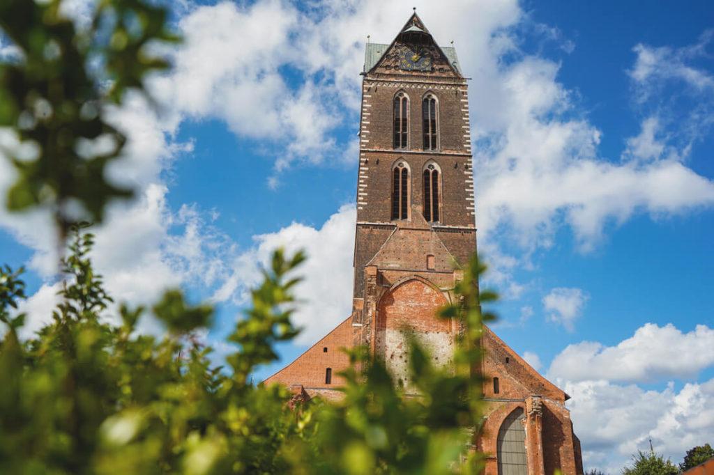 Wismar Sehenswürdigkeiten St. Marien Kirche Turm