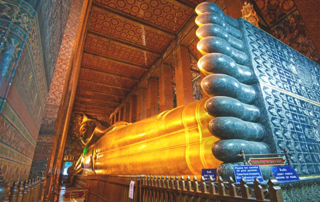 Bangkok-Highlights-Wat-Pho-Liegender-Buddha-Tempel