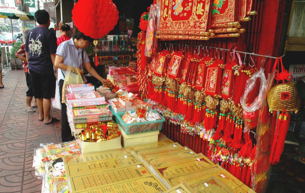 Bangkok-Sehenswuerdigkeiten-China-Town-Thailand