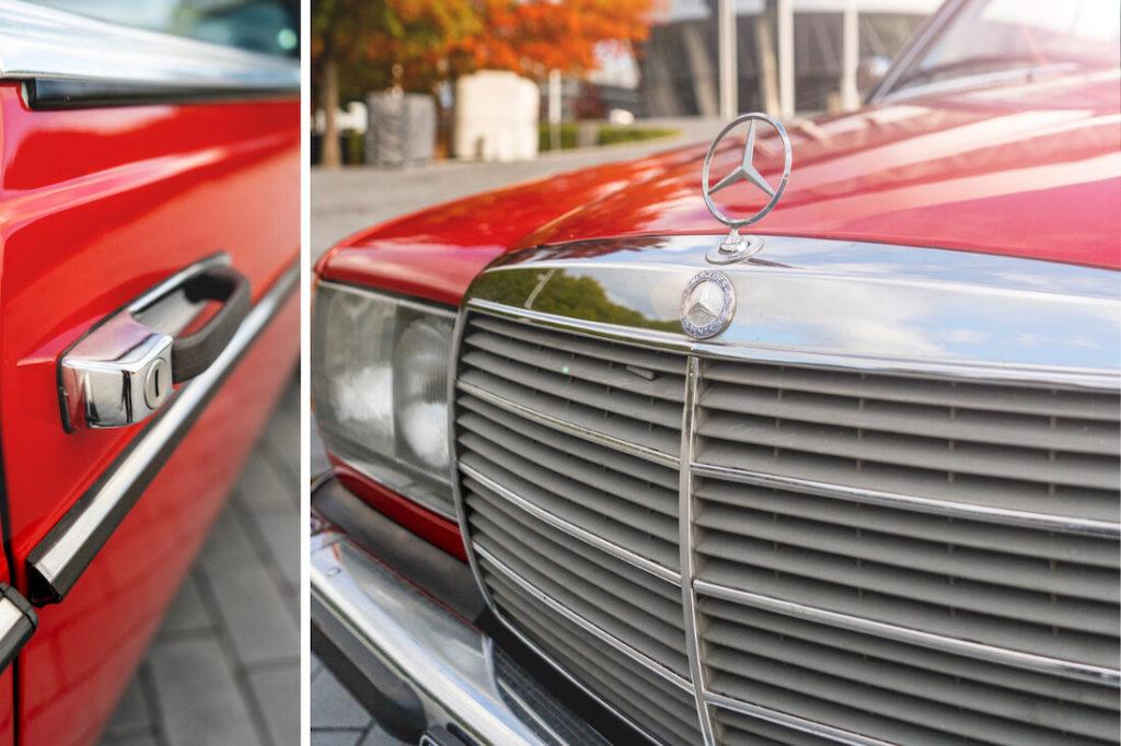 Detailaufnahme-Oldtimer-Mercedes-Benz-Museum-Stuttgart