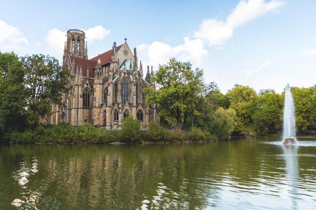 Feuersee-Johanneskirche-Stuttgart-Wochenende-Tipps