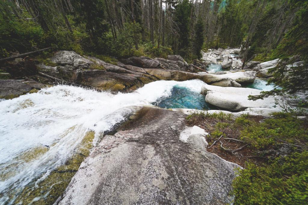 Sehenswürdigkeiten Slowakei Hohe Tatra Wanderung Wasserfall