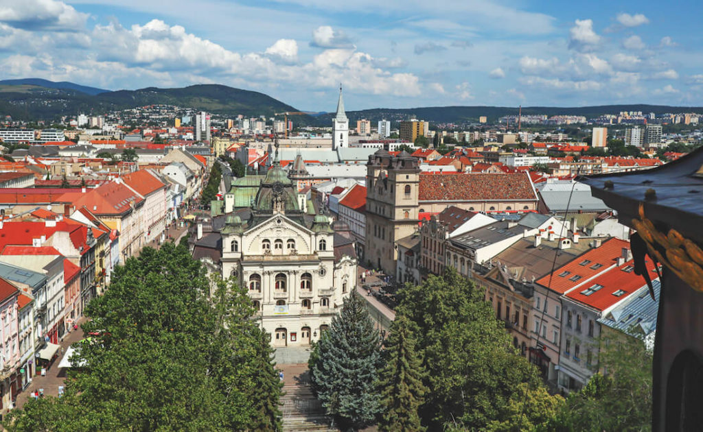Slowakei Sehenswürdigkeiten Kosice Kaschau Aussicht Turm