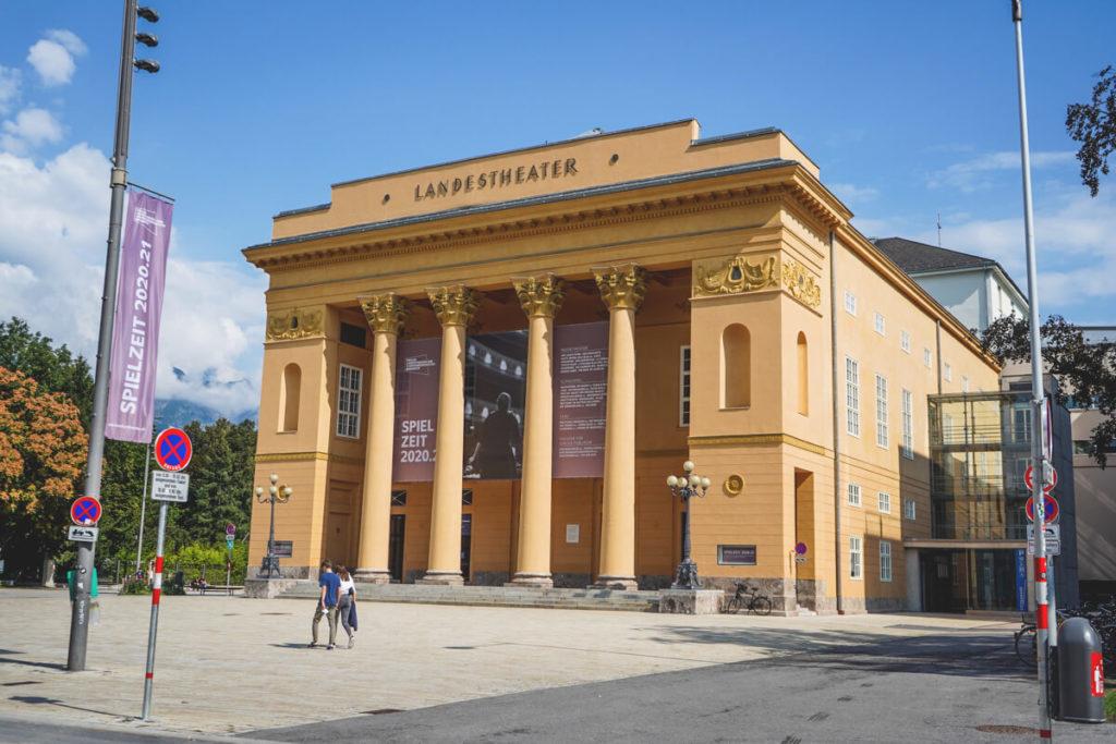 Das Landestheater in Innsbruck