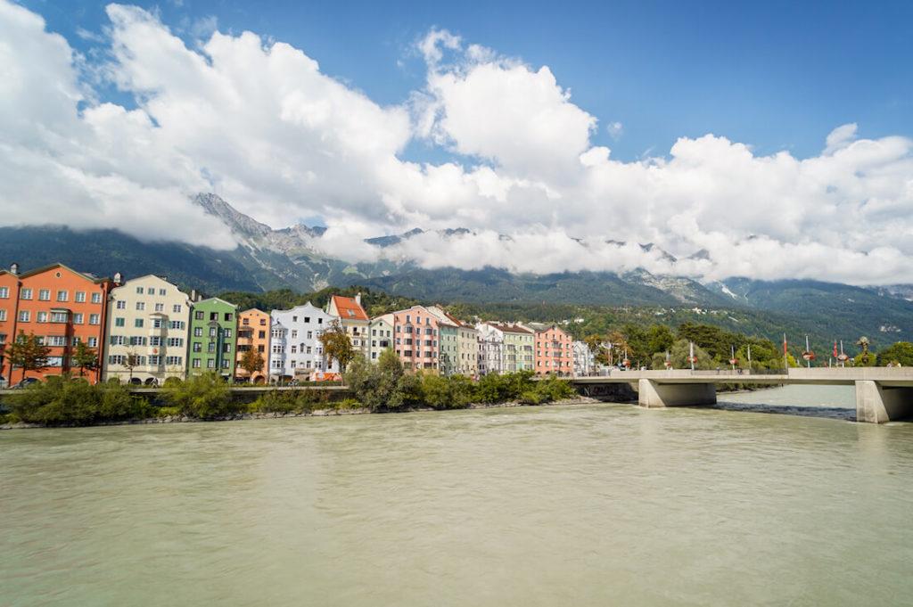 Innsbruck Sehenswürdigkeiten Mariahilf Aussicht