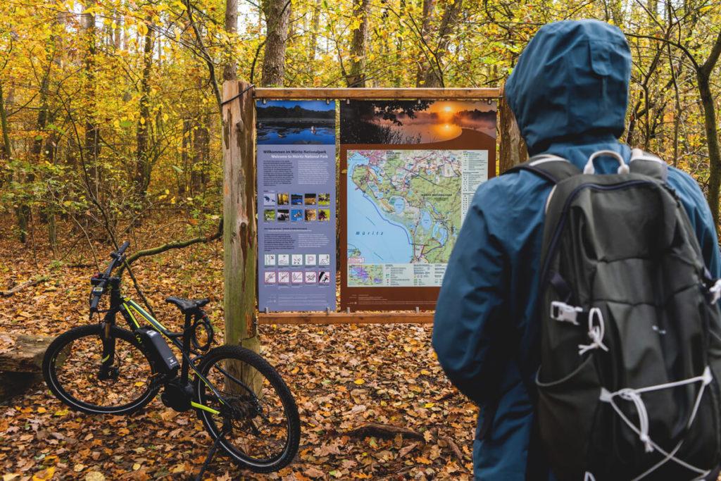 mueritz-Nationalpark-Karte-Informationstafel