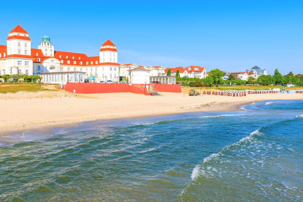 Rügen Sehenswürdigkeiten Binz-Kurhaus-Ostsee-Strand