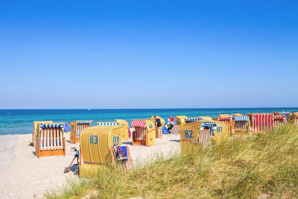 Sommerurlaub in MV – Am Strand von Timmendorf auf der Insel Poel
