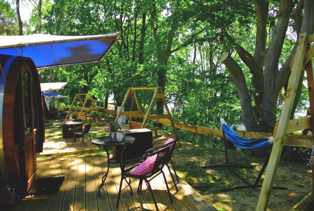 Schlaffass-Zwei-Seen-Naturcamping-Mecklenburg-Vorpommern
