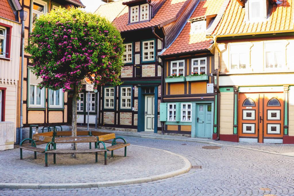 Wernigerode-Harz-schoene-Stadt-Deutschland-Urlaub