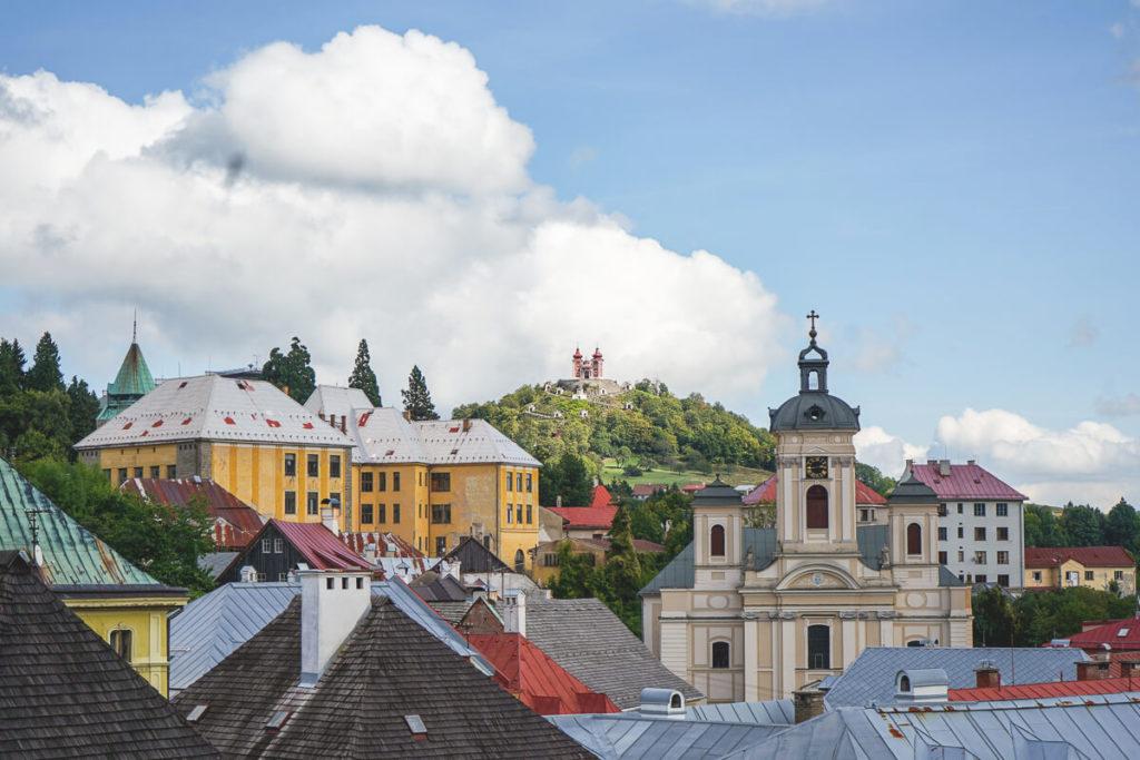 Banska-Stiavnica-Aussicht-Kalvarienberg