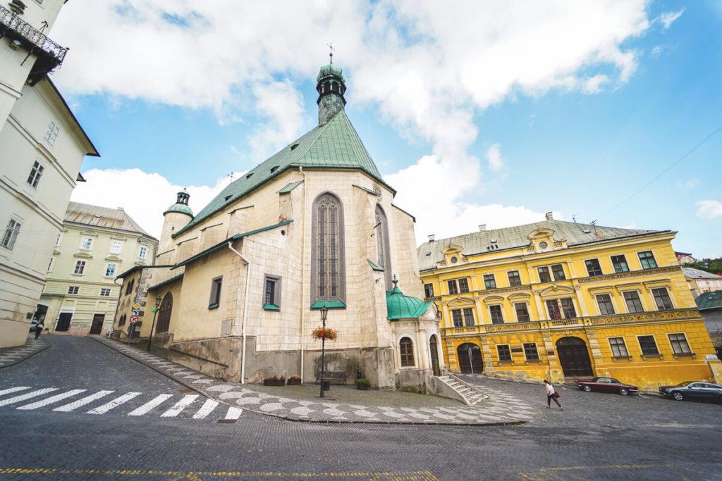 Banska-Stiavnica-Kirche