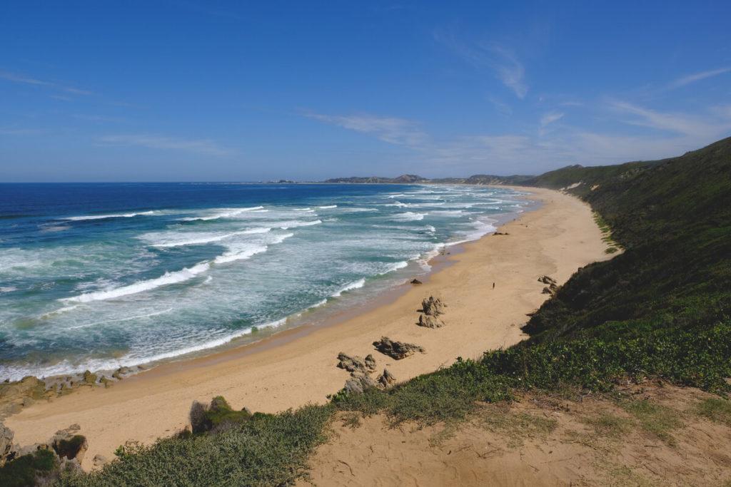 Knysna-Suedafrika-Brenton-on-Sea-Beach-Strand