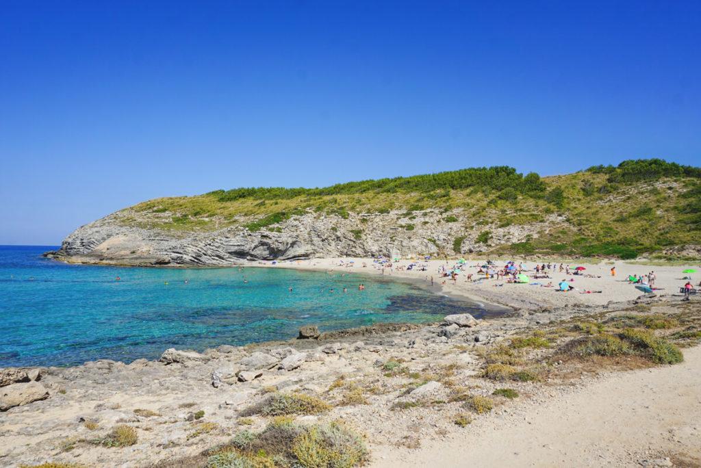 Cala-Tortra-Strand-Mallorca-Bucht