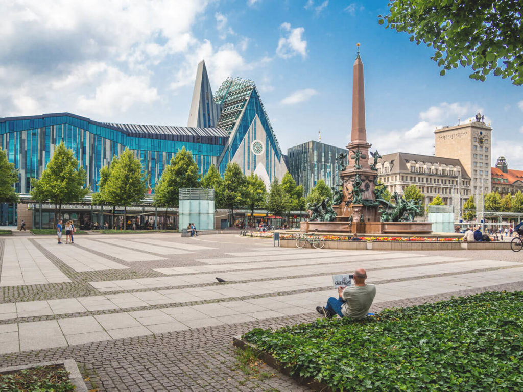 Leipzig-Sehenswuerdigkeiten-Augustusplatz-Altstadt