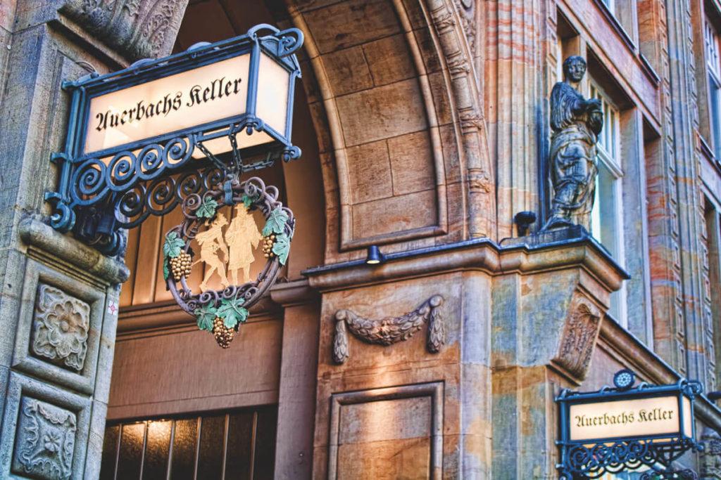 Mädlerpassage und Auerbachs Keller Goethe