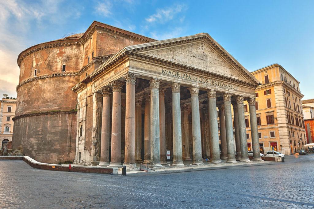 Rom-Highlights-Pantheon-Aussenansicht-Tempel