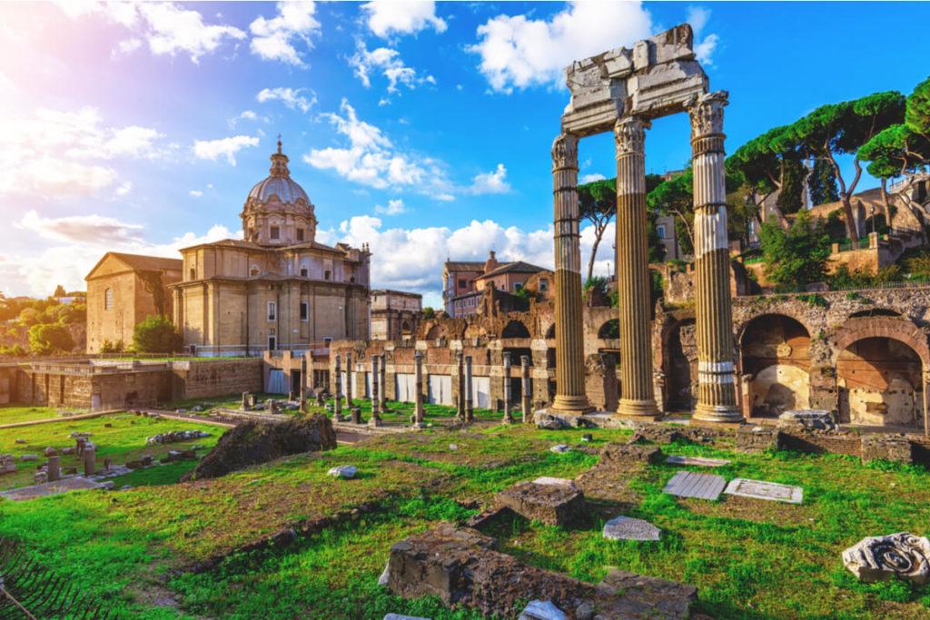 Rom-Sehenswuerdigkeiten-Forum-Romanum
