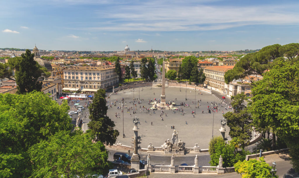 Rom-Sehenswuerdigkeiten-Piazza-Del-Popolo