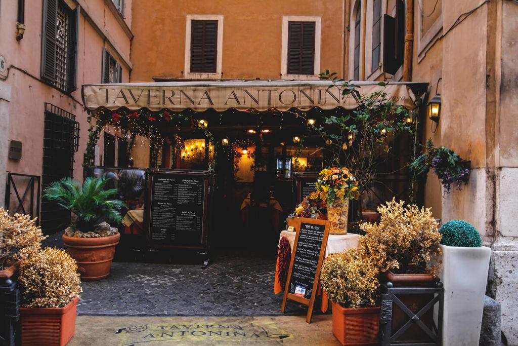 Rom Essen Restaurant Taverna