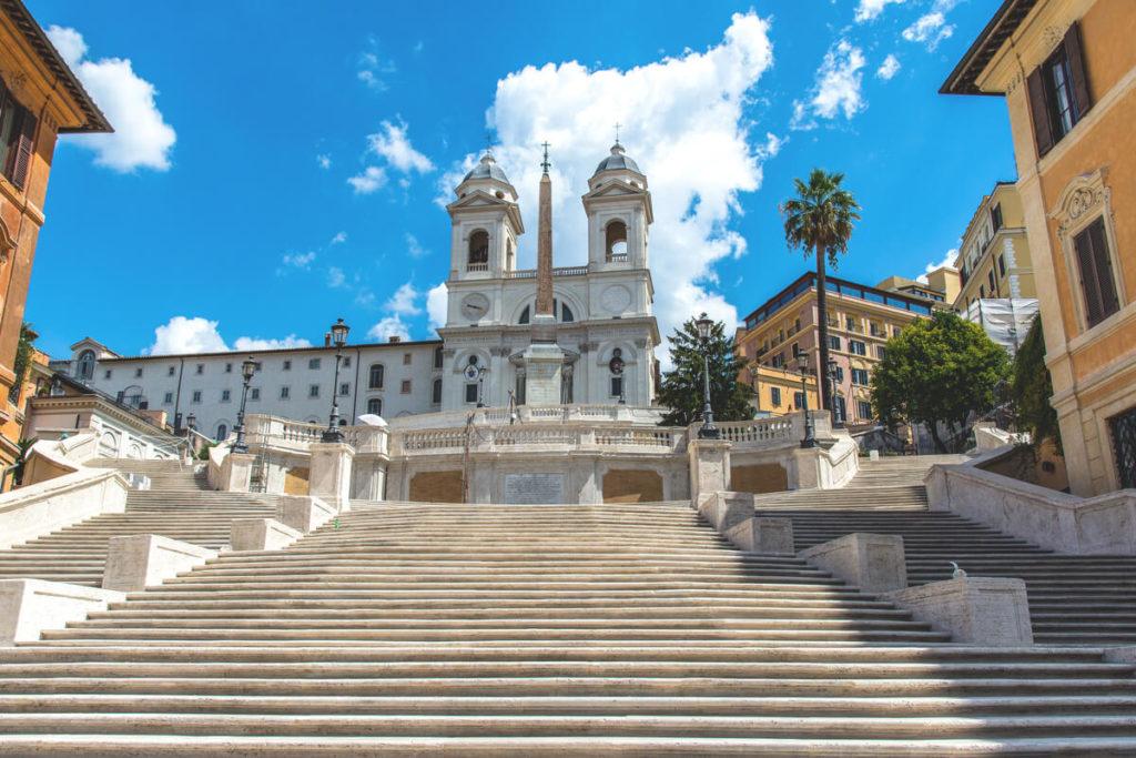 Rom-Sehenswuerdigkeiten-Spanische-Treppe