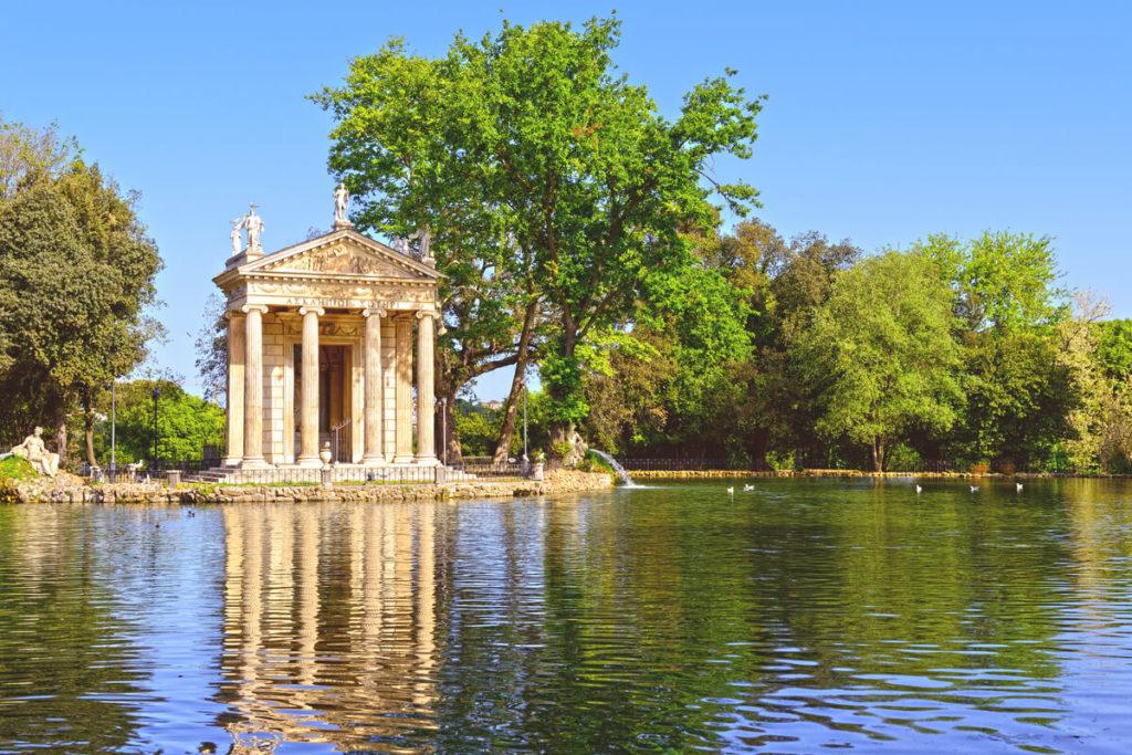Rom-Sehenswuerdigkeiten-Villa-Borghese-Park