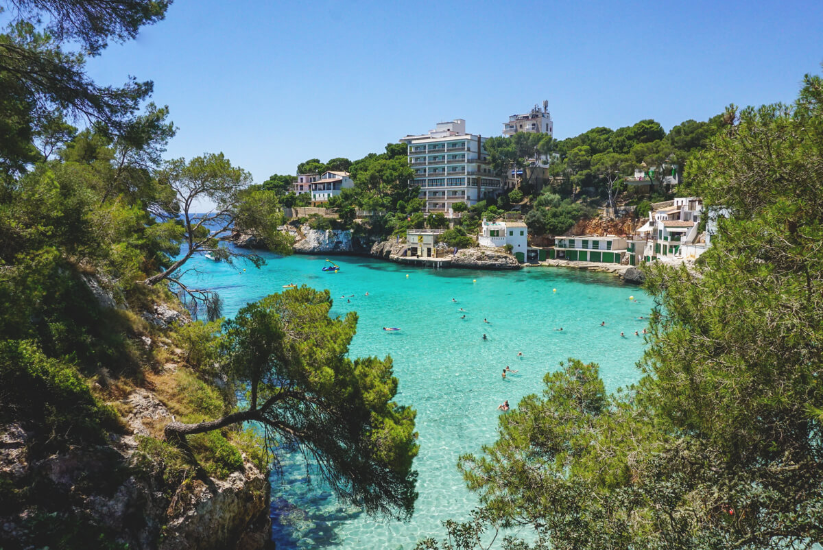 Strand-Mallorca-Cala-Santanyi