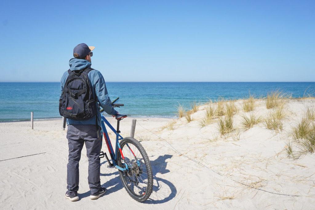 Fahrradtour-Graal-Mueritz-Ostsee-Strand